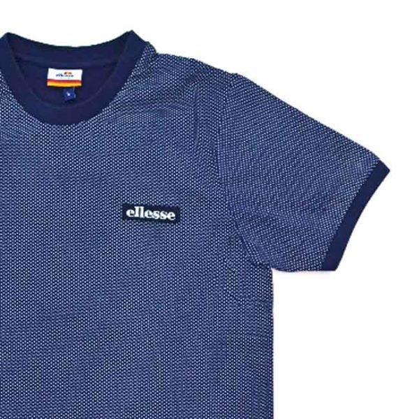 ELLESSE-HERITAGE-MENS-CUFFED-SLEEVE-T-SHIRT-NAVY-ELL405N-V3-e1512647593250