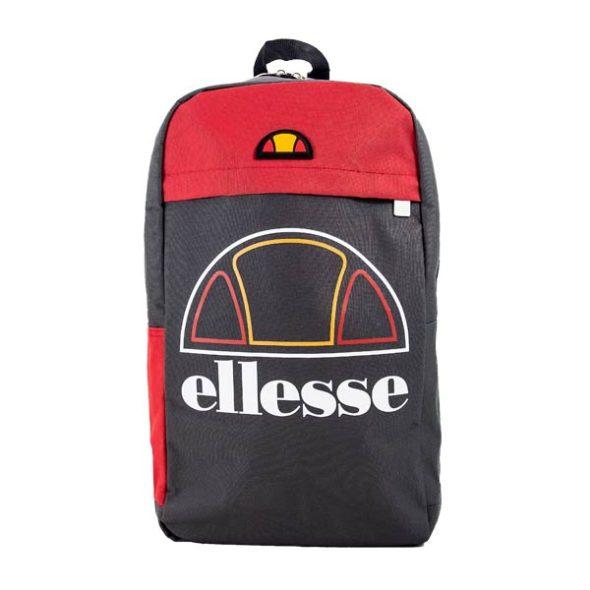 ELL502CR-ELLESSE-HERITAGE-BACKPACK-CHARCOAL-RED