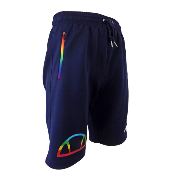 ELL543DB-ELLESSE-HERITAGE-RAINBOW-ZIP-SHORTS-DRESS-BLUE-V3