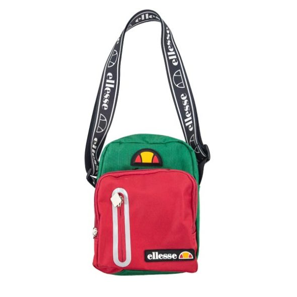 ELL646RG-ELLESSE-HERITAGE-SLING-BAG-RED-GREEN