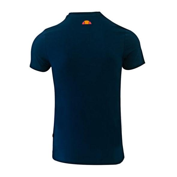 ellesse Heritage Side Detail Tshirt Dress Blue V3