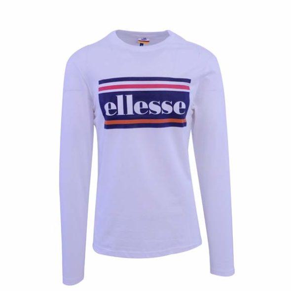 ellesse-Heritage-Logo-Stripe-Long-Sleeve-T-Shirt-White-ELL634W