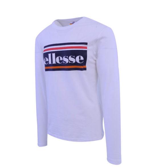 ellesse-Heritage-Logo-Stripe-Long-Sleeve-T-Shirt-White-ELL634W-V2