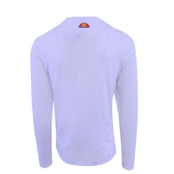 ellesse-Heritage-Logo-Stripe-Long-Sleeve-T-Shirt-White-ELL634W-V3