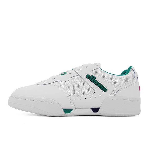 ELLESSE-PIACENTINO-2.0-LEATHER-AM-WHITE-GREEN