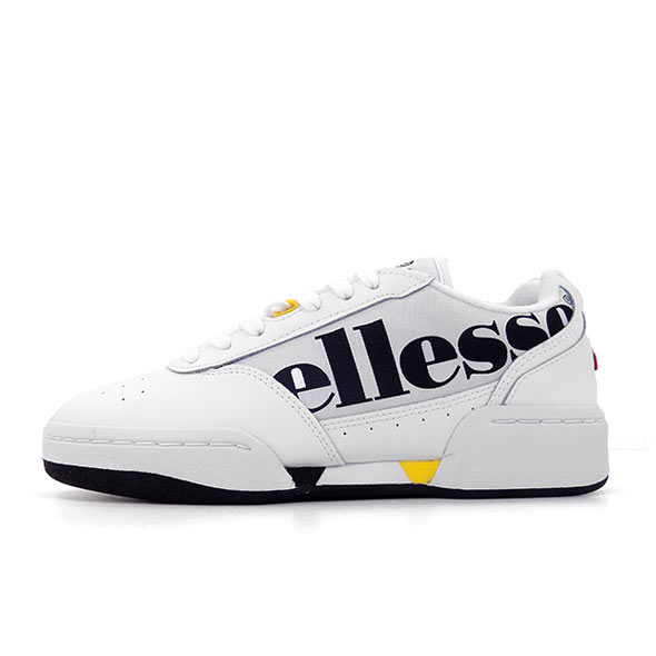 ELLESSE-PIACENTINO-LEATHER-AF-WHITE-BLACK-YELLOW