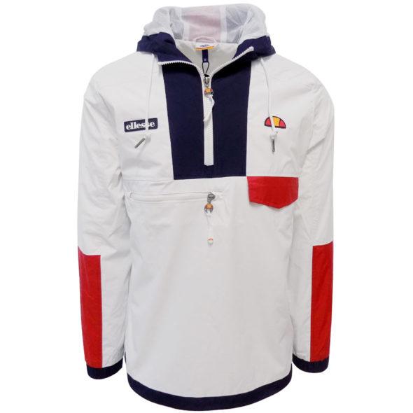 ellesse-Heritage-12-Hooded-Windrunner-White-ELL610W