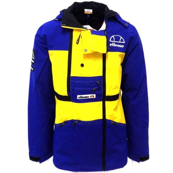 ellesse-Heritage-Colourblock-Ski-Jacket-Blue-Lemon-ELL713BL