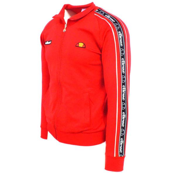 ellesse-Heritage-Taped-Button-Tracksuit-Jacket-Red-ELL645R-V2