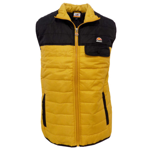 ELL613BO-ELLESSE-COLOURBLOCK-GILLET-BLACK-ORANGE