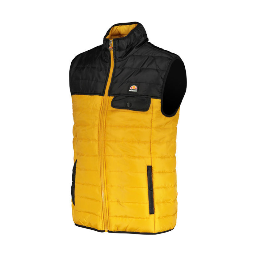 ELL613BO ellesse Colourblock Gillet Black Orange ELW19-519A