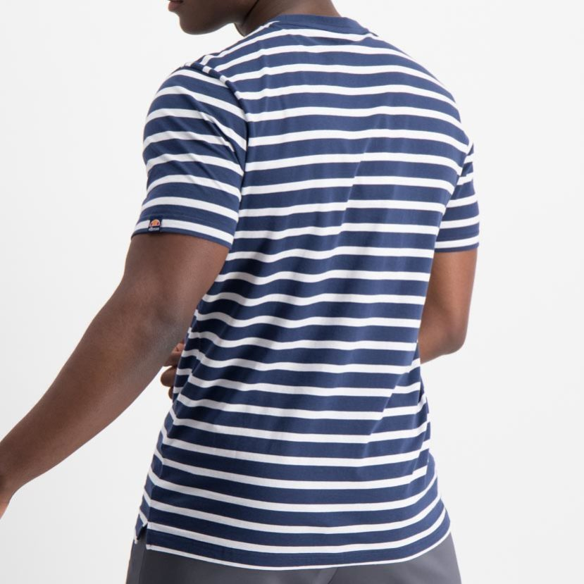 ellesse Sailo T-shirt Stripe Navy