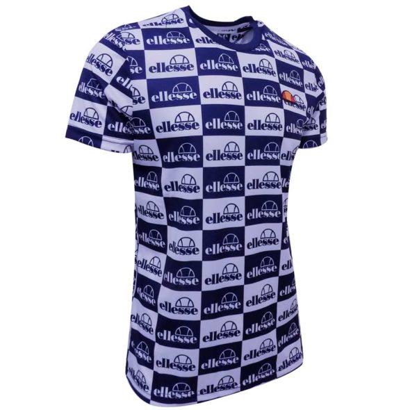 ellesse-AOP-Print-Tee-White-Blue-ELL720W-V3