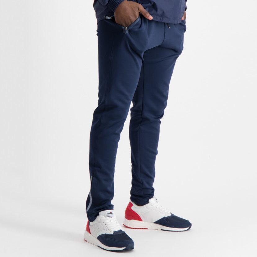 ELL601N ellesse Basic Zip Tricot Pants Navy ELW19-538B