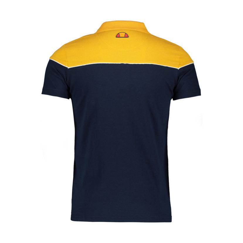 ELL603DB ellesse Colourblock Golfer Dress Blue Yellow ELW19-533A