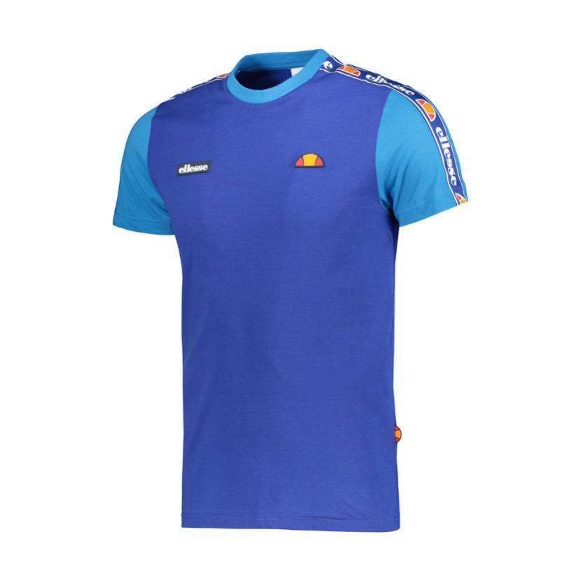 ELL627BL ellesse Colourblock Tape T-shirt Blue ELW19-505A