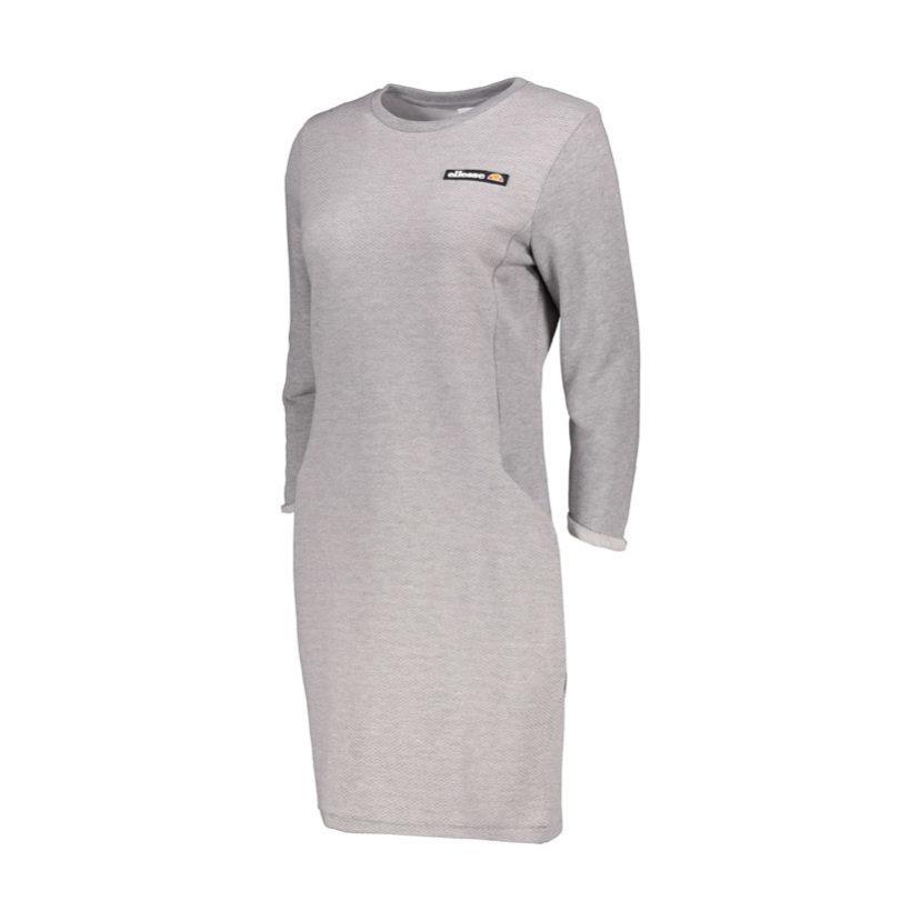 ELL637B ellesse Textured Terry Dress Grey ELW19-570A