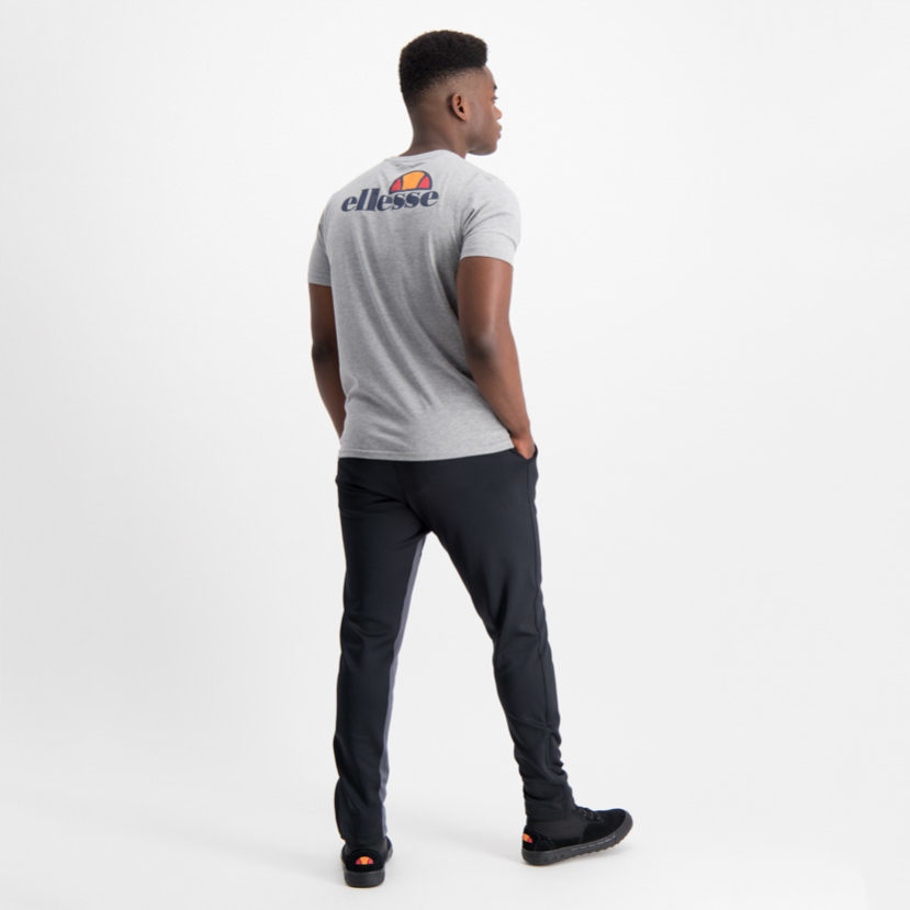 ellesse Back Print T-shirt Grey