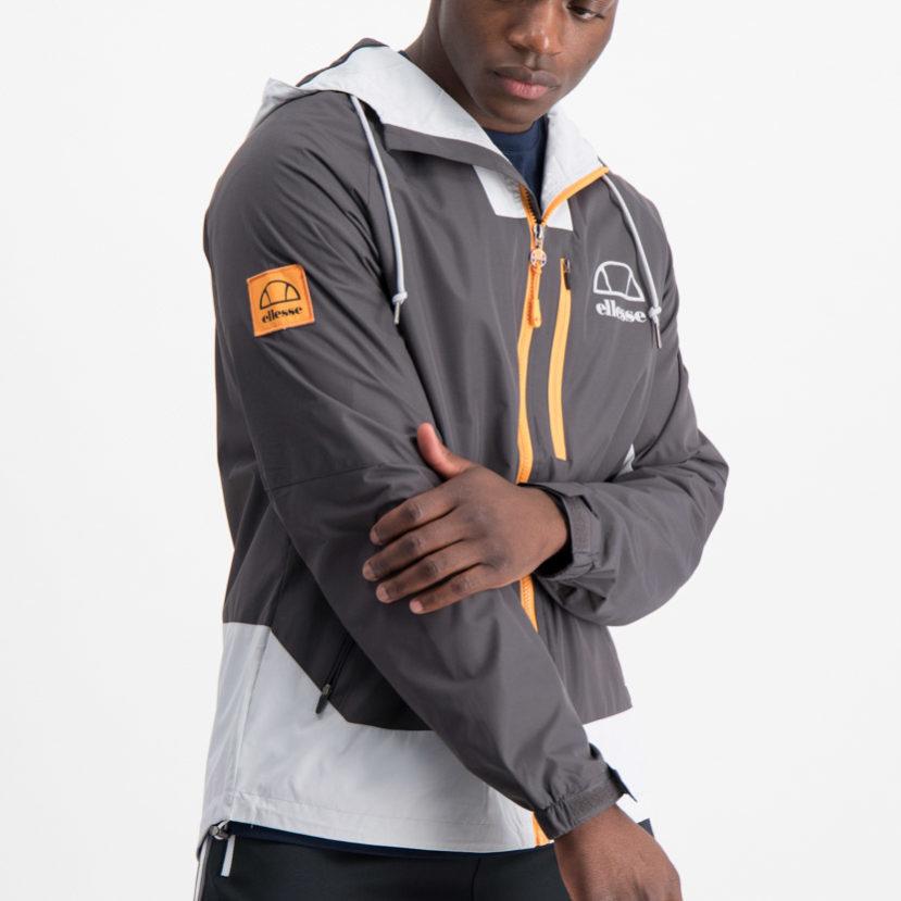 ellesse Jacket Grey Orange