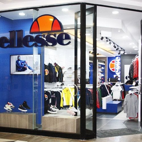 ellesse The Glen Shopping Centre Official store