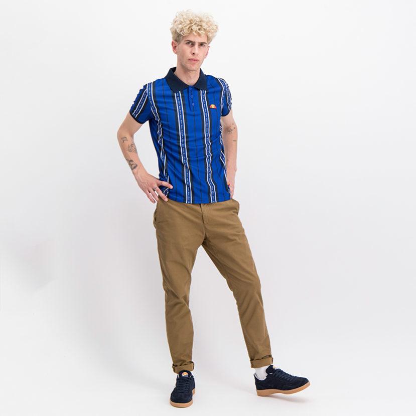 ELL710DB ellesse Stripe Golfer Dress Blue ELS19-616A