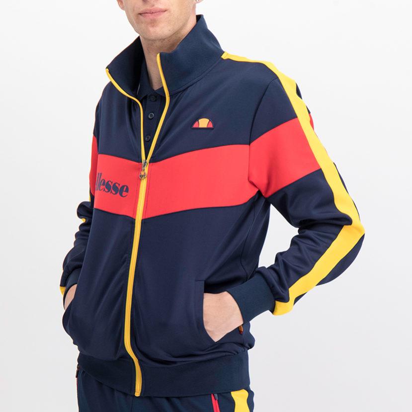 ELL766DB ellesse Tricot Jacket Dress Blue Red ELS19-625A