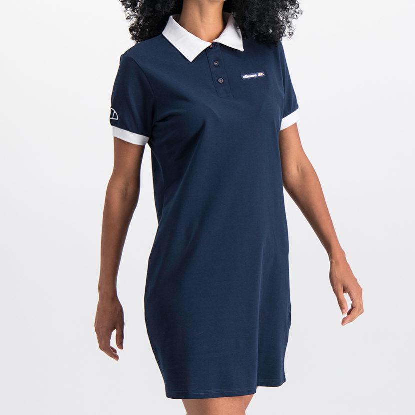 ELL779DB ellesse Golfer Dress White Blue ELS19-915AL