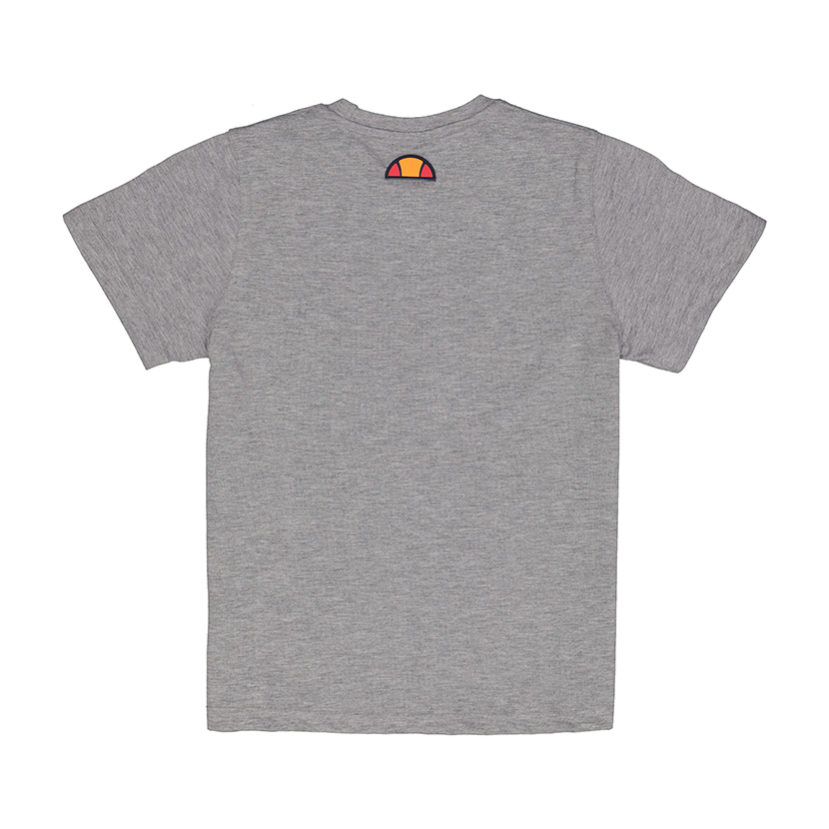 ELL792YG ellesse Logo Panel T-shirt Kids Grey ELS19-604AB