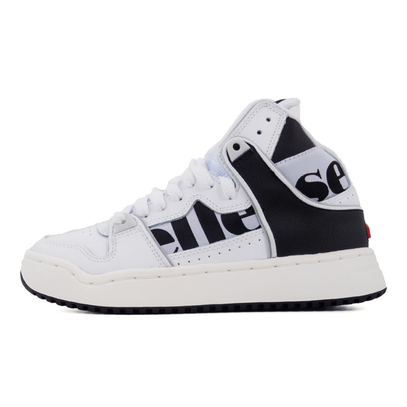 ELL819LWB ellesse Assist Hi White Black Grey