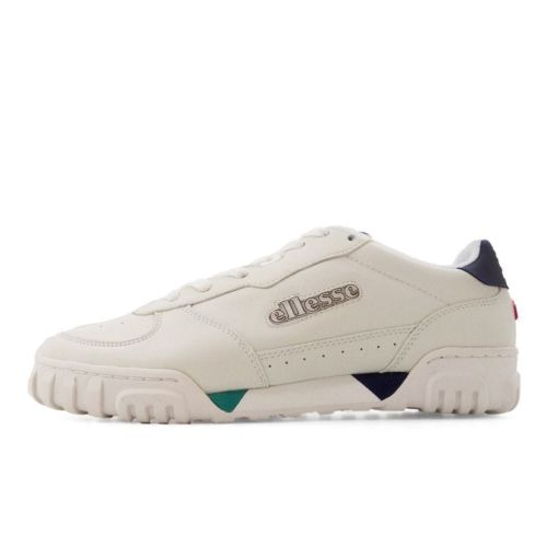 ellesse tanker lo leather mens off white dark blue ell929ow a9b