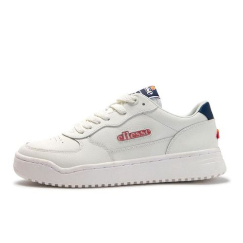 ellesse varesse leather mens white dark blue ell931w 7f9