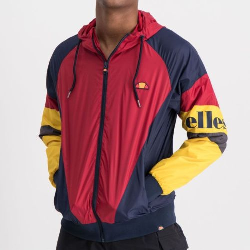 ELL763BU ELLESSE SPLIT COLOR HOODED WINDRUNNER ELS19 704A 5