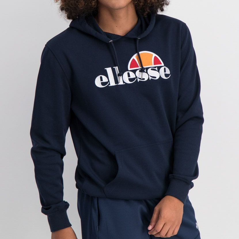 ELL862DB ELLESSE PULLOVER HOODIE LARGE CHEST EMBROIDERED LOGO ELW20 002A 7