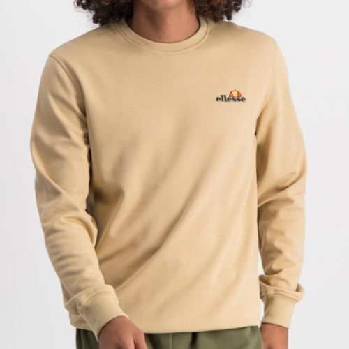 ELL865LT ELLESSE SWEAT TOP SMALL EMBROIDERED LOGO TAN ELW20 005A 1 7