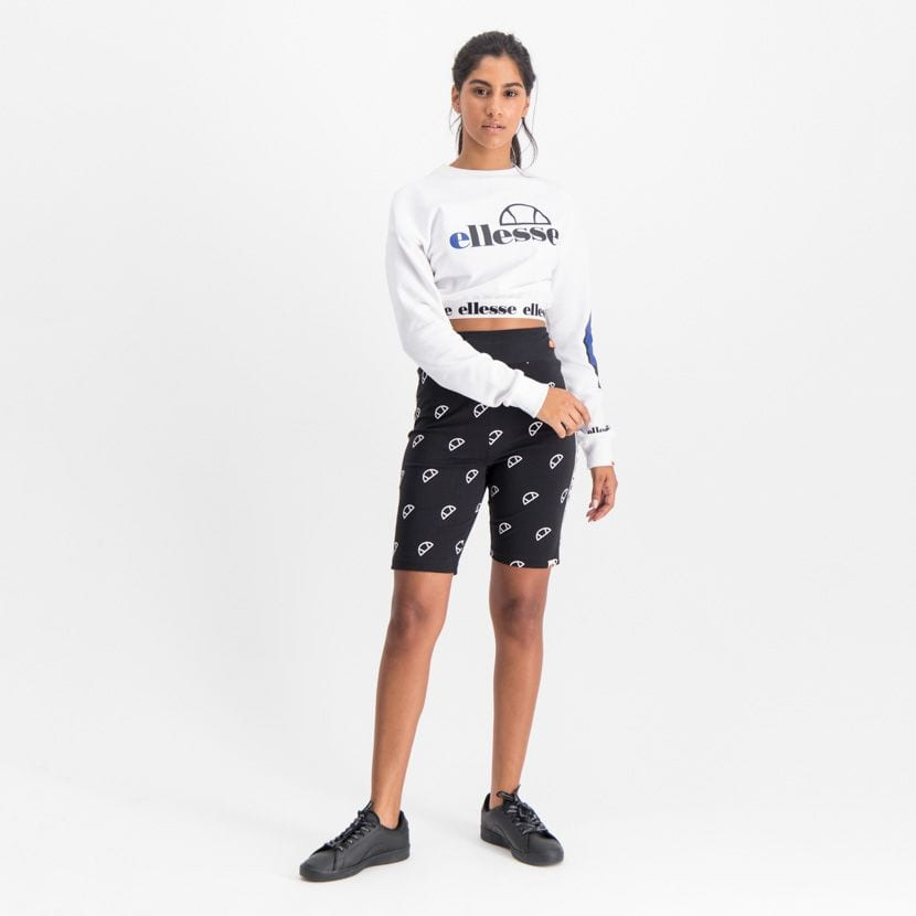 ELL907B ELLESSE CYCLE SHORTS WITH ALL OVER PRINT WOMENS  ELW20 542BL 3