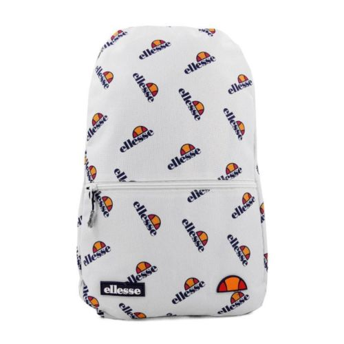 ellesse all over print backpack white ell951w 444