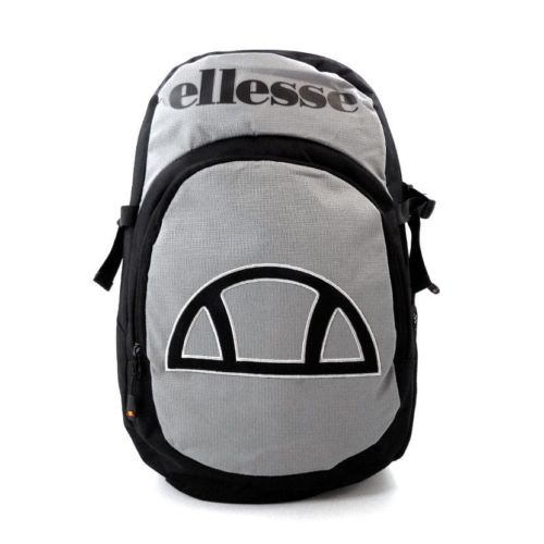 ellesse utility backpack bag black grey ell952bg 614