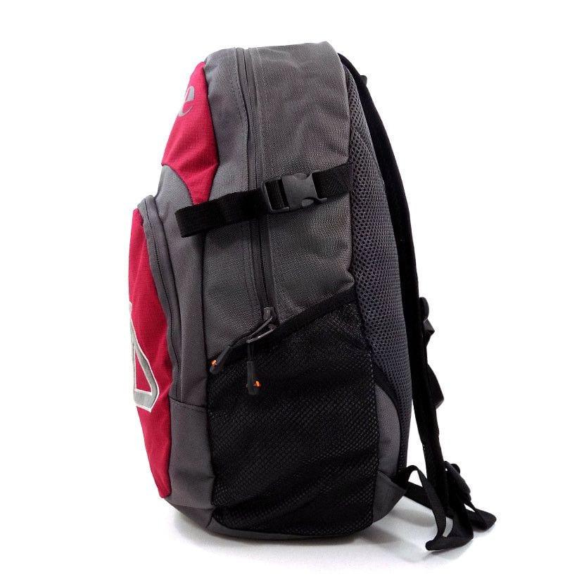 ellesse utility backpack bag charcoal chilli pepper ell952ch b19