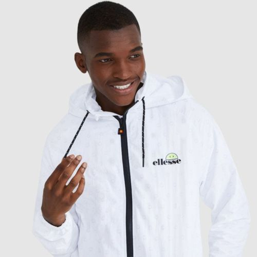 ellesse Apostle Hooded Track Top White ELL926W V1