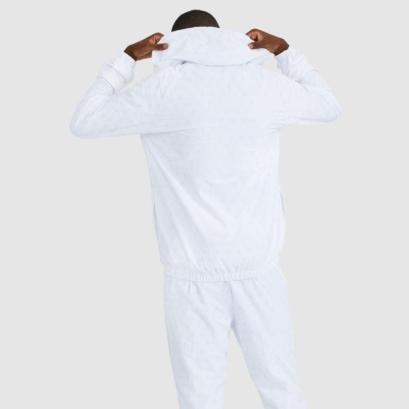 ellesse Apostle Hooded Track Top White ELL926W V4