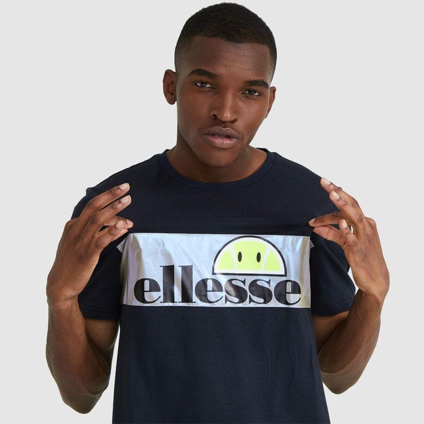 ellesse Castelrotto T shirt Black ELL913B v1