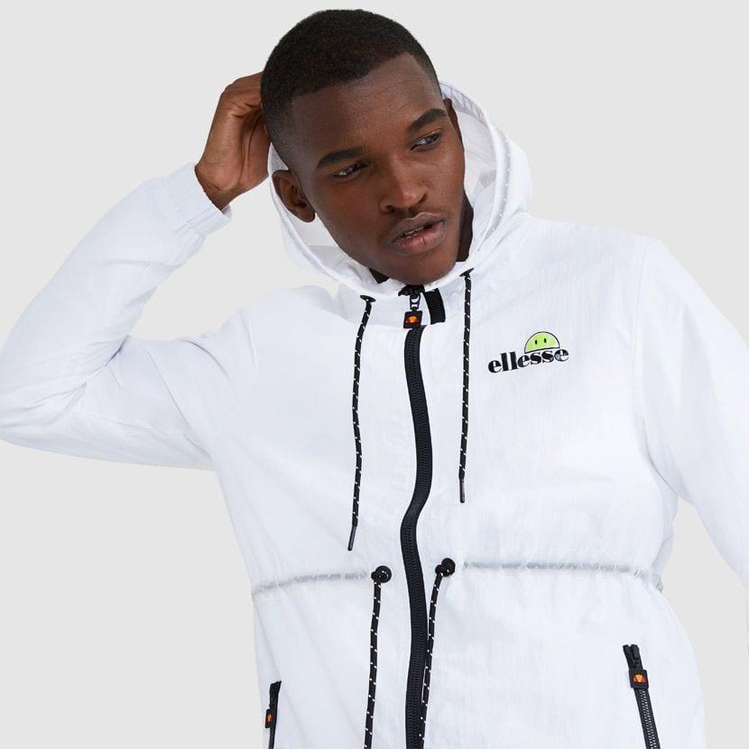 ellesse Corpus Hooded Jacket White ELL927W V2
