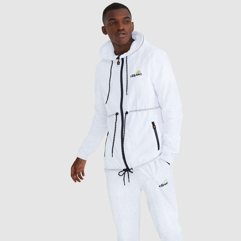 ellesse Corpus Hooded Jacket White ELL927W V4