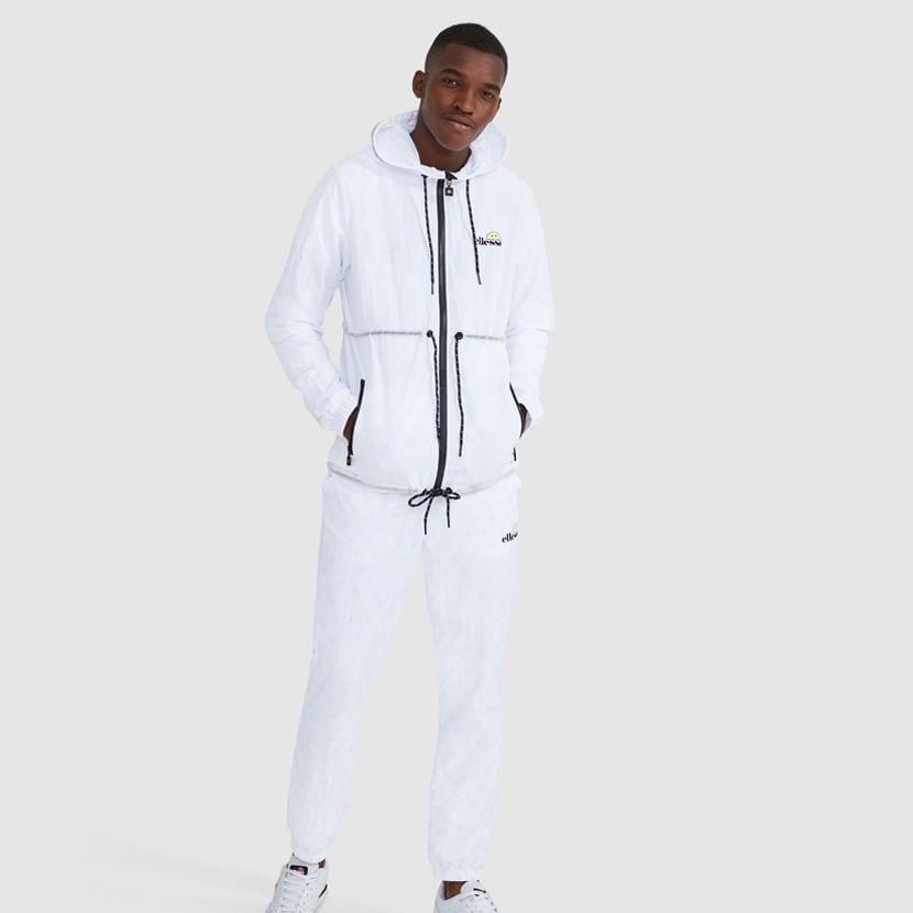 ellesse Corpus Hooded Jacket White ELL927W V7