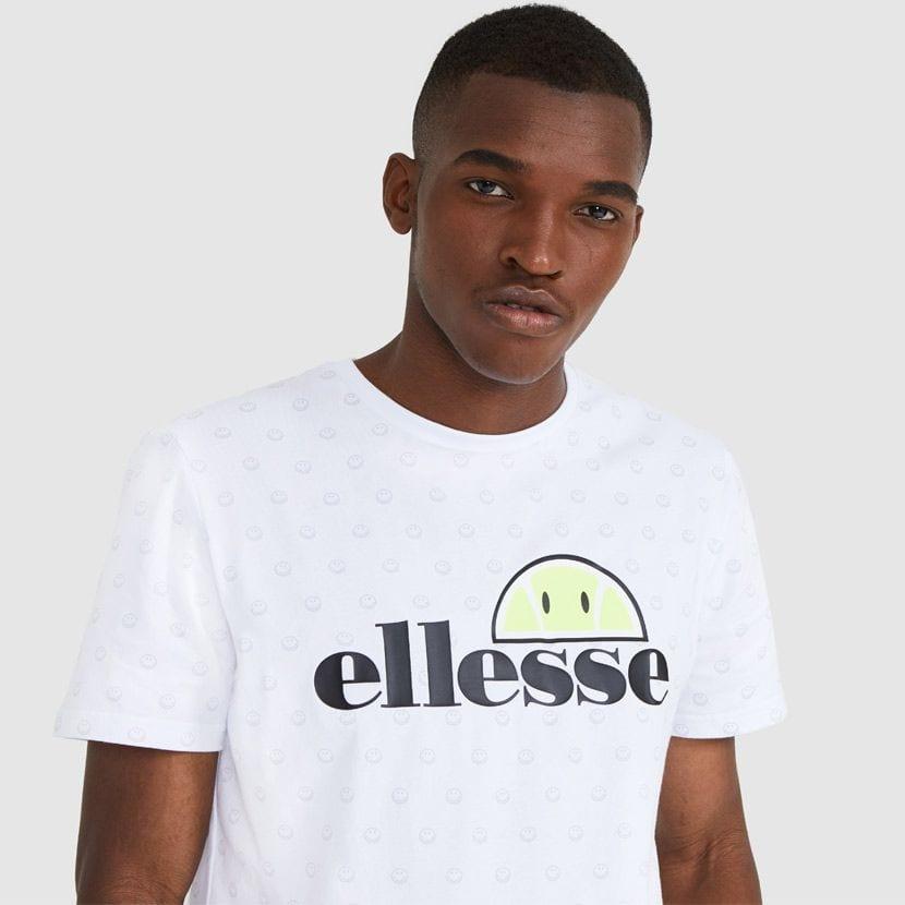 ellesse Feeta T Shirt White ELL912W V1