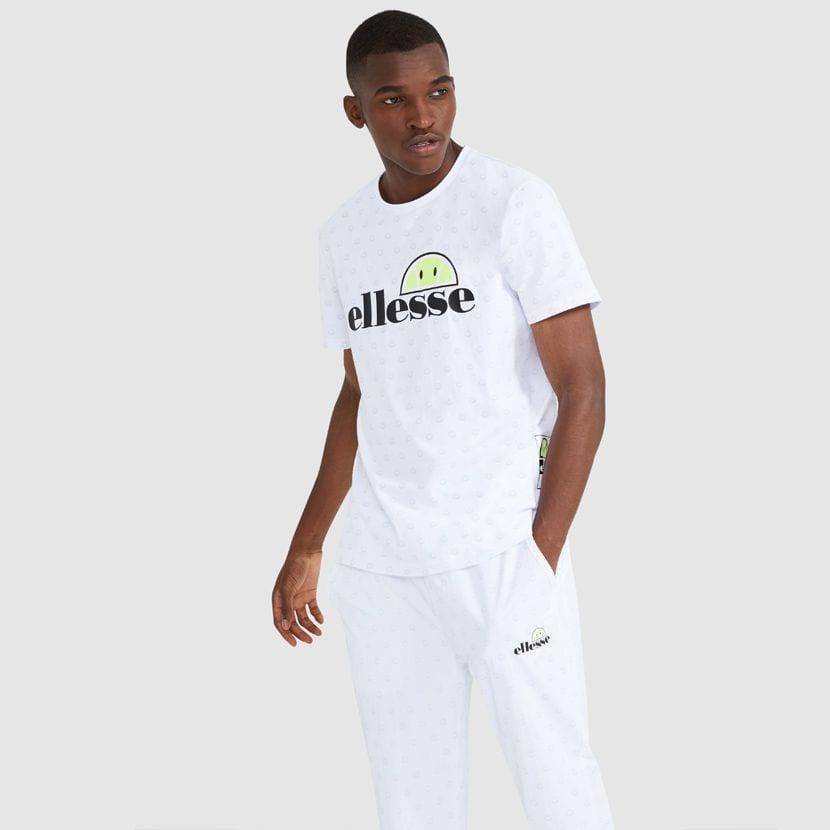 ellesse Feeta T Shirt White ELL912W V3