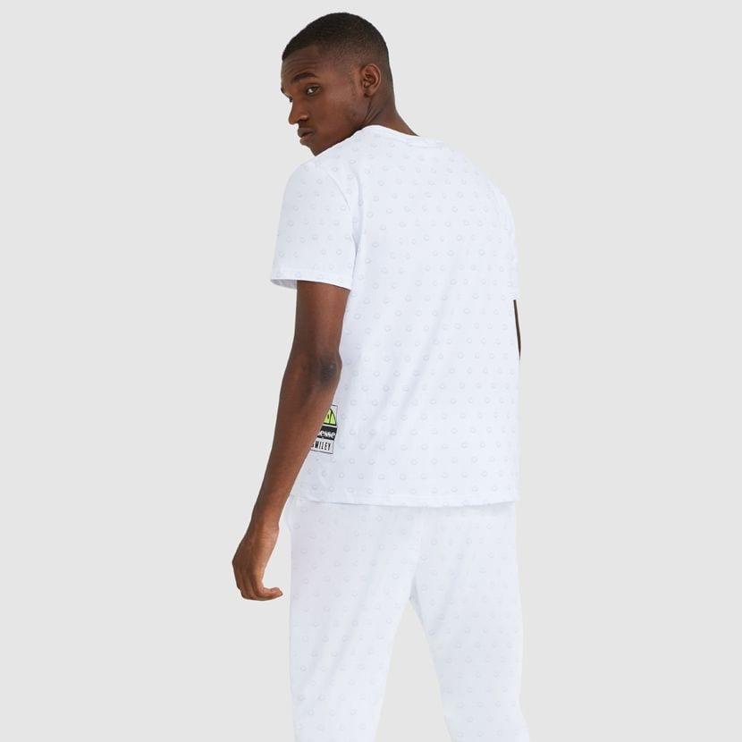 ellesse Feeta T Shirt White ELL912W V4
