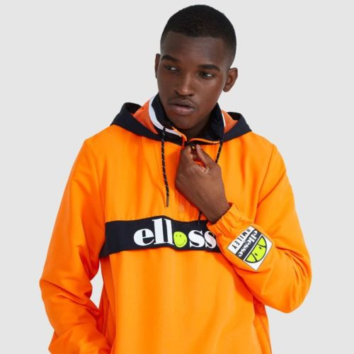 ellesse Fistinu Zip Jacket Neon Orange ELL9230 V1