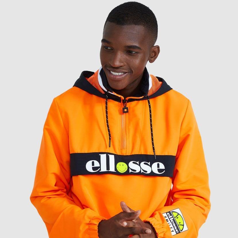 ellesse Fistinu Zip Jacket Neon Orange ELL9230 V3
