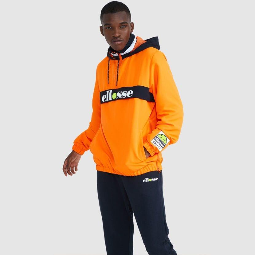 ellesse Fistinu Zip Jacket Neon Orange ELL9230 V4